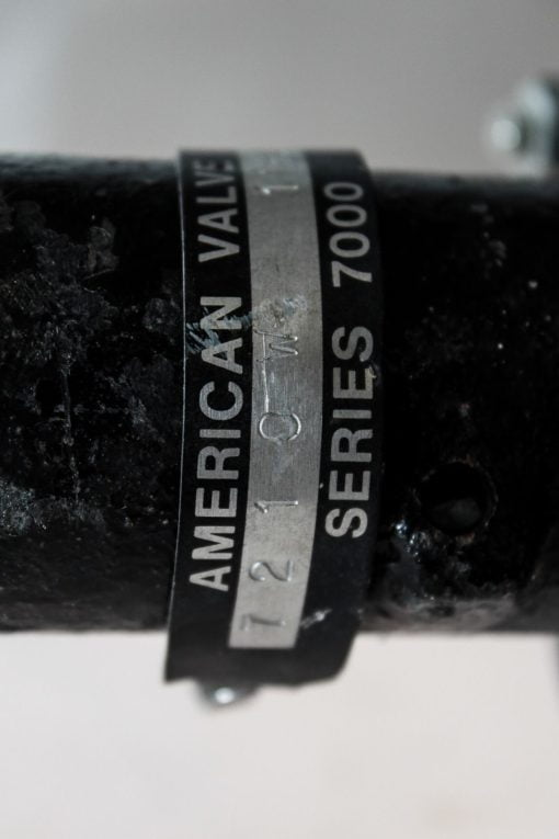 AMERICAN VALVES 7210W 4� WAFER STYLE STAINLESS STEEL BUTTERFLY VALVE! (B128) 2