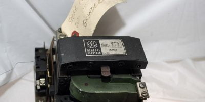 GE GENERAL ELECTRIC CR206E0 90A 600VAC 60Hz 3 PHASE MOTOR STARTER USED! (G02) 1