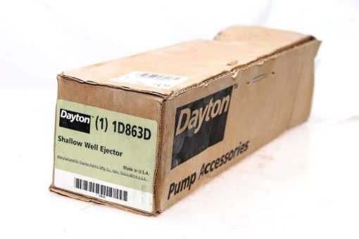 DAYTON 1D863D SHALLOW WELL EJECTOR NEW IN FACTORY SEALED BOX! FAST SHIP! Â (B129) 1