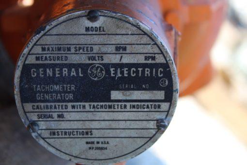 Emerson 3HP 1750 RPM Motor 21523R w/ Tachometer model 5PY9JY84 *NEW* (Connex) 3