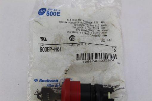 Allen Bradley 800E / 800EP-MK4 Key Release Mushroom *NEW* (F235) 2