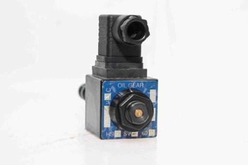 NEW! OIL GEAR HS4SV-602-OS SOLENOID VALVE & HIRSCHMANN B12 GDM CONNECTOR (A411) 3