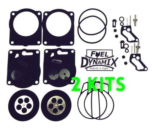 TWO Yamaha GP800 XL800 SBN-I Carburetor Rebuild Kits Waverunner Carb GP XL 800 1