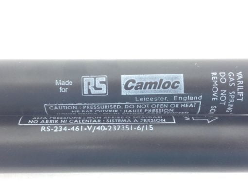 RS CAMLOC SWV1080800026 SWIFT & SURE GAS SPRINGS SIZE: 6/15 STRK 250mm (B106 4