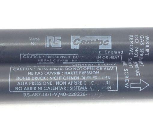 RS 687-001 CAMLOC SWV1080800026 SWIFT & SURE GAS SPRINGS 40-22826-49/13 (B133) 3
