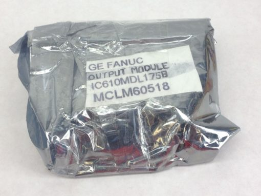 NEW, FACTORY PKG! GE FANUC # IC610MDL175B PROGRAMABLE OUTPUT MODULE (H173) 1