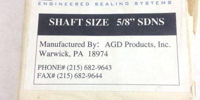 NEW! DURASHIELD 5/8� SDNS SHAFT SEAL FAST SHIP!!! (H146) 1