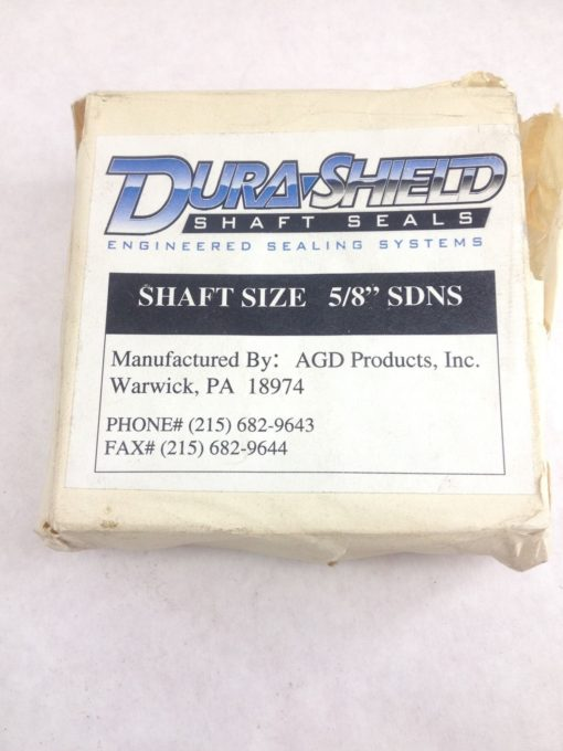 NEW! DURASHIELD 5/8� SDNS SHAFT SEAL FAST SHIP!!! (H146) 1