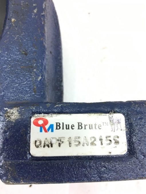 Timken BLUE BRUTE QAPF15A215S, Single Concentric Four-Bolt Pillow Block, (HB6) 2