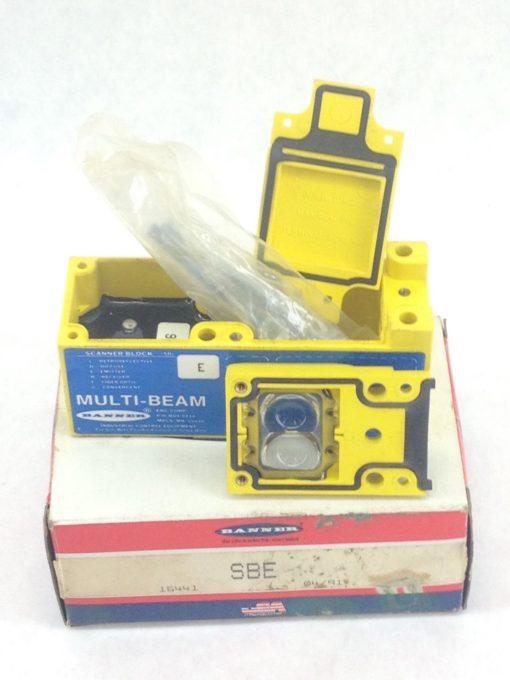 NEW! GENUINE BANNER ENGINEERING SBE MULTI-BEAM SCANNER BLOCK FAST SHIP!!!(A100) 1