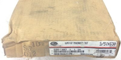 NEW, SEALED BOX! GATES 3/5VX630 SUPER HC POWERBAND 9389-3063 FAST SHIP!!! (TOL) 1