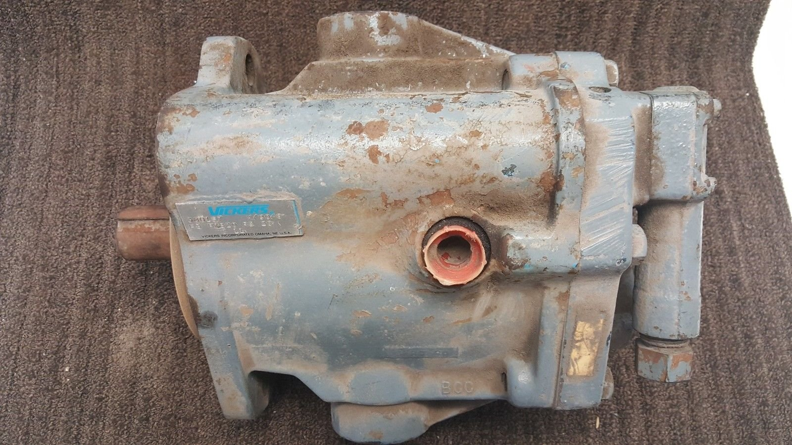 Vickers Hydraulic Axial Piston Pump 380187/F3 PVB20 RS 20 C11 *used* (B169) 1