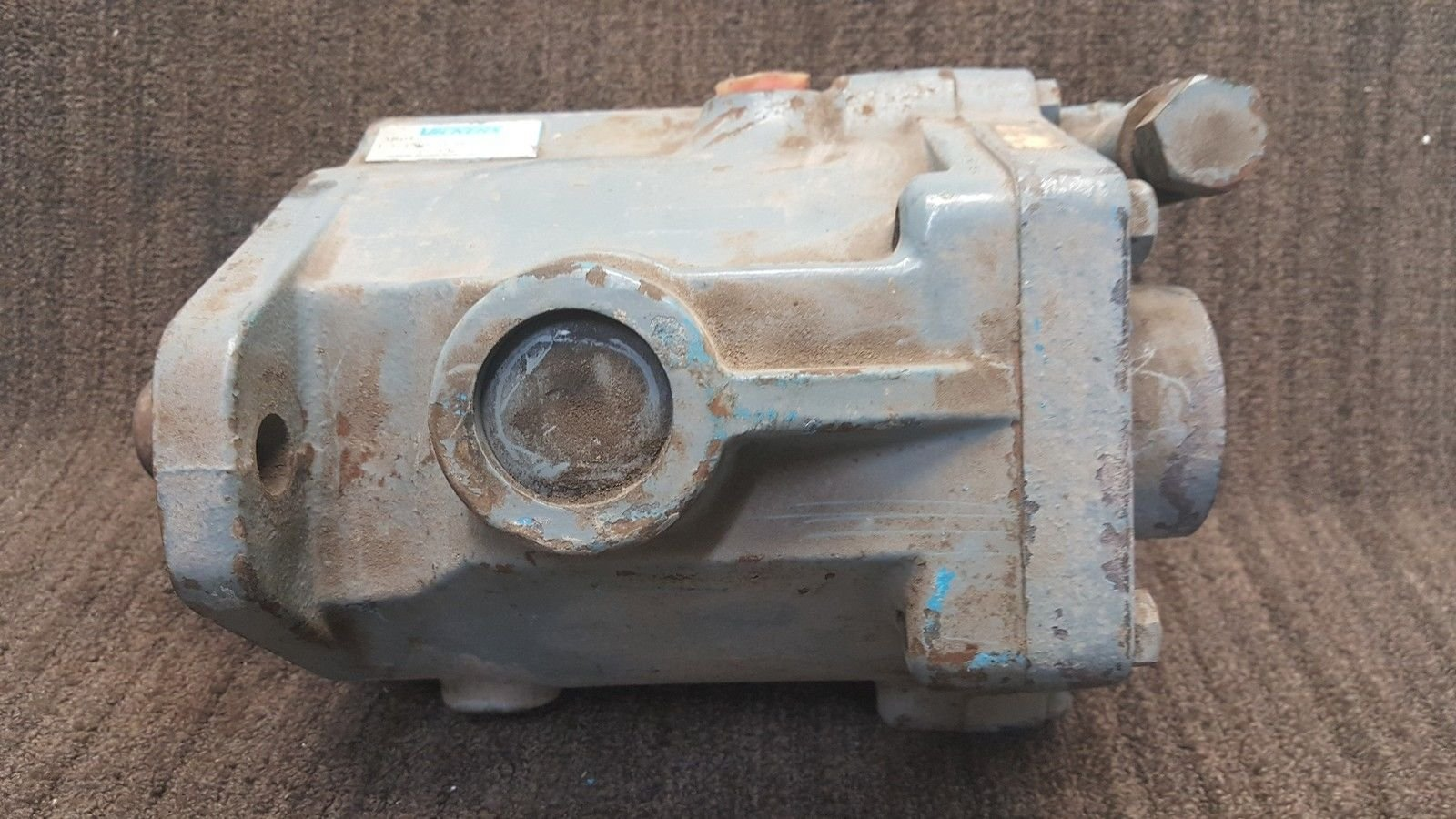 Vickers Hydraulic Axial Piston Pump 380187/F3 PVB20 RS 20 C11 *used* (B169) 2