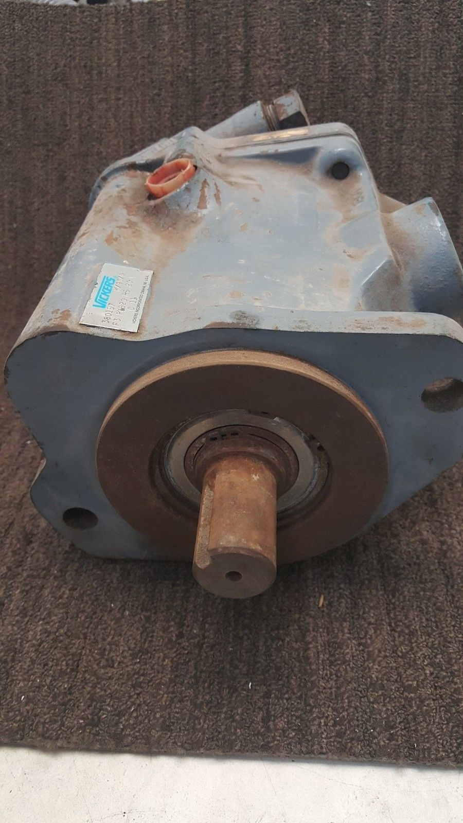 Vickers Hydraulic Axial Piston Pump 380187/F3 PVB20 RS 20 C11 *used* (B169) 3