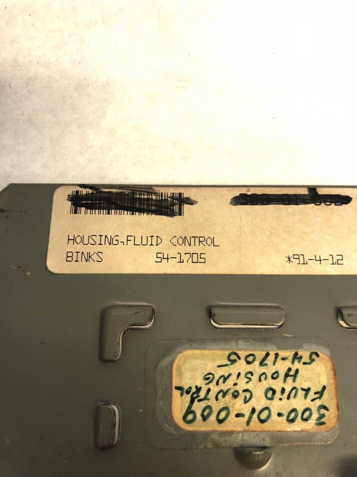 LOT OF 7 NEW Binks 54-1705 FLUID CONTROL BODY, FAST SHIP! (A739) 2