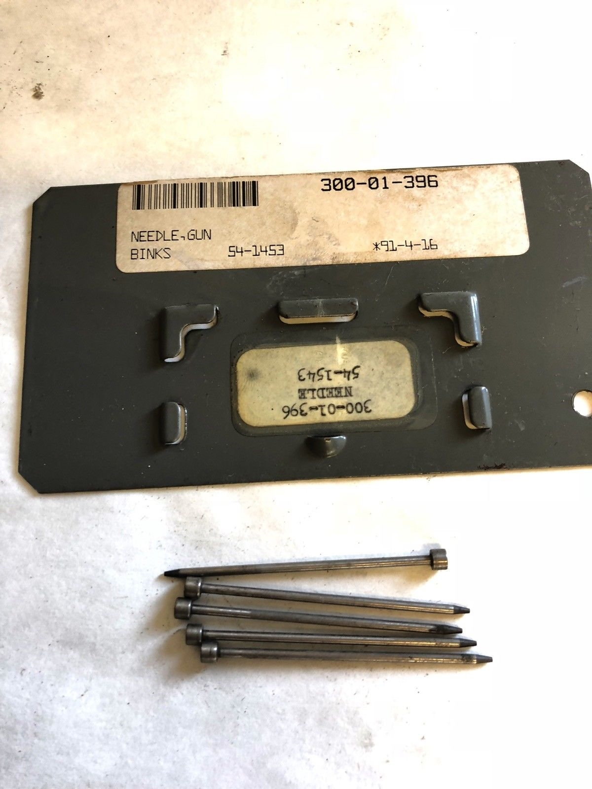 LOT OF 5 NEW BINKS 4-1453 REPLACEMENT NEEDLE FOR SPRAY GUN, FAST SHIP! (A739) 1