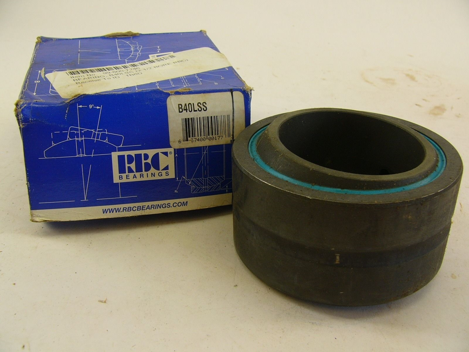 RBC B40LSS B4OLSS BEARING NEW IN BOX!!! (J9) 1