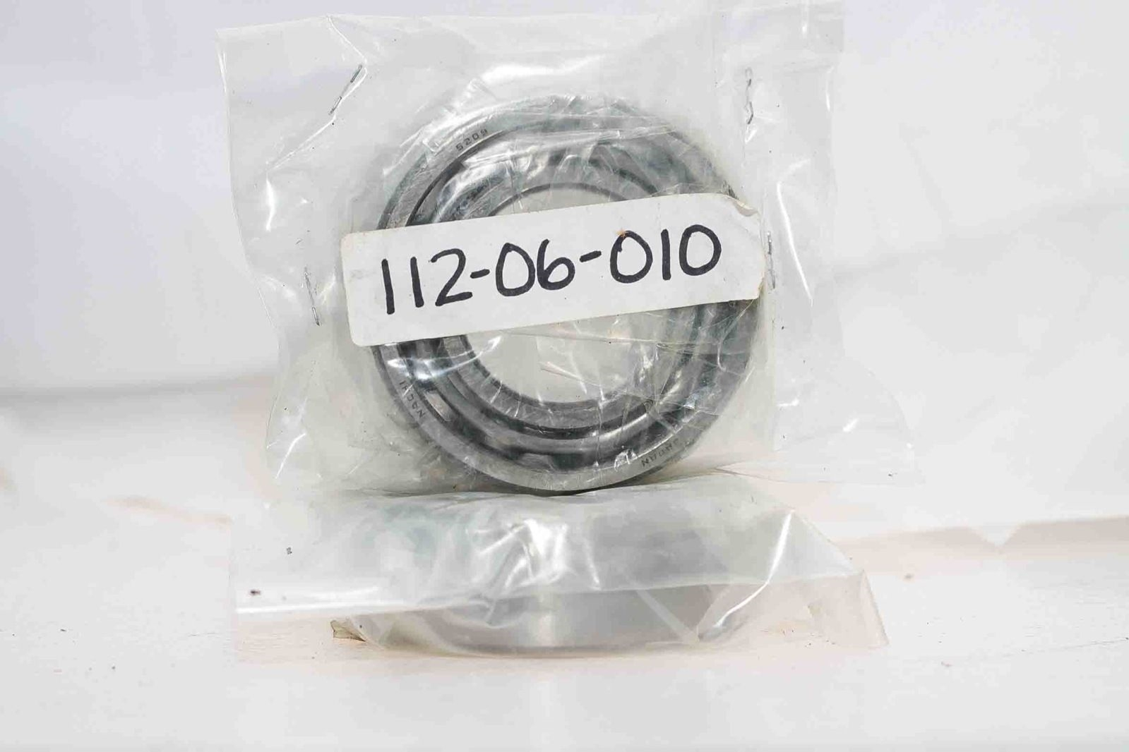 NACHI 5209 DOUBLE ROW ANGULAR CONTACT BEARING NEW FACTORY PACKAGE LOT OF! 2 H102 1