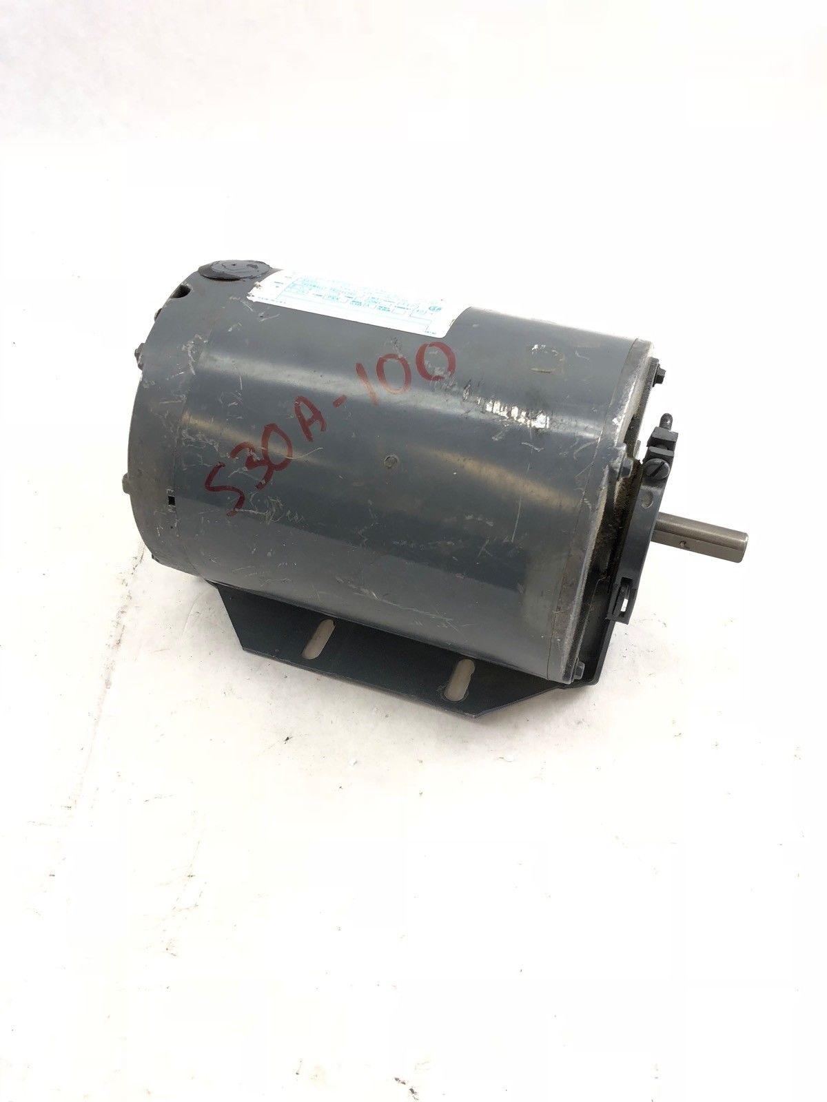 USED GOULD 7-1513 43-01 CENTURY 1/2 HP MOTOR, L48 FRAME, 3450 RPM, (B427) 1