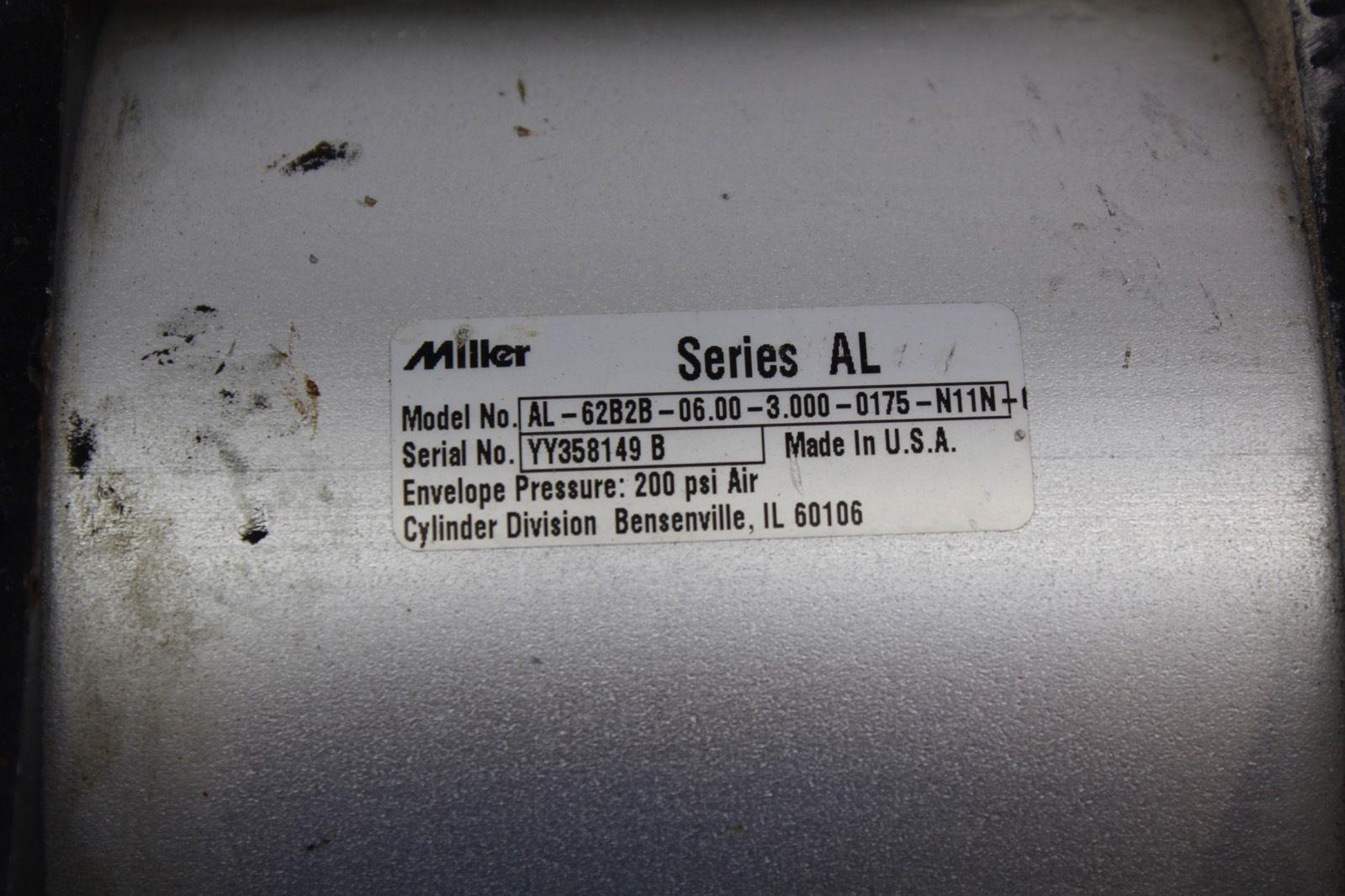 Miller AL-62B2B 6 X 3 X 1