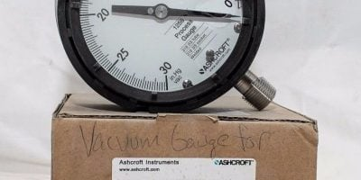 ASHCROFT 5RXZ7 30â?HG VAC – 0 VACUUM PROCESS GAUGE! NEW IN BOX! FAST SHIP! (B131) 1