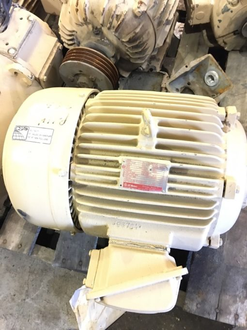 NEW GE GENERAL ELECTRIC 5KS254BC105A 3 PHASE MOTOR, 15 HP, 3525 RPM, (NP3) 1