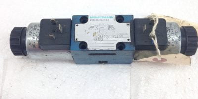 MANNESMANN REXROTH 4WE6J60/EW110R N9Z55 SOLENOID HYDRAULIC VALVE (A197) 1