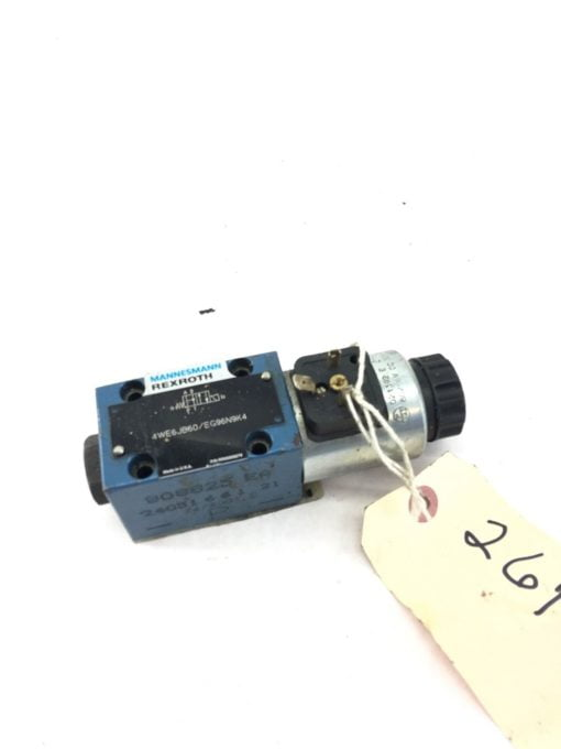 USED GREAT CONDITION Mannesmann Rexroth 4WE6JB60 EG96N9K4 Directional Valve B364 1