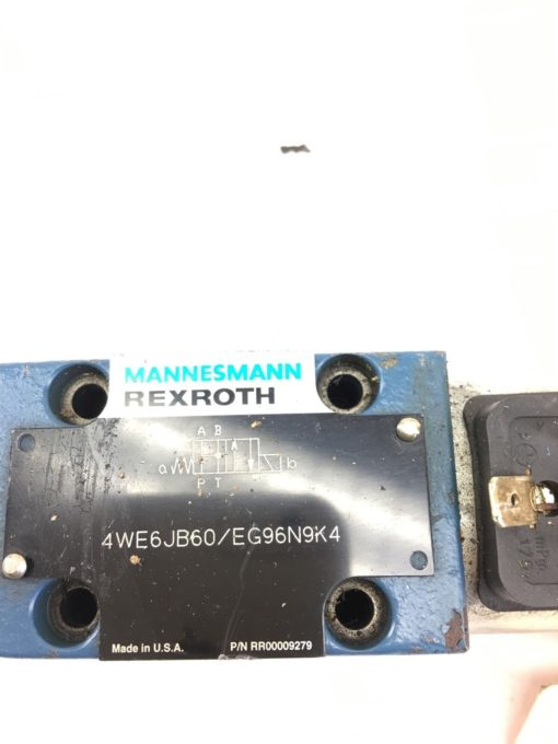 USED GREAT CONDITION Mannesmann Rexroth 4WE6JB60 EG96N9K4 Directional Valve B364 2