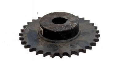 UST TSUBAKI 50B32F 1 3/16 FINISHED BORE WITH KEYWAY ROLLER CHAIN SPROCKET! (P5E) 1