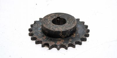 UST TSUBAKI 50B24 1 3/16 FINISHED BORE WITH KEYWAY ROLLER CHAIN SPROCKET! (P5E) 1