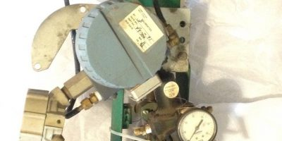 """FISHER CONTROLS 667-EB 3/4"""" ACTUATED STEEL VALVE ASSY 1"""
