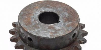 """UST TSUBAKI 40B20F 7/8"""" BORE 20 TOOTH SPROCKET FOR ROLLER CHAIN UNUSED! (A608) 1"""