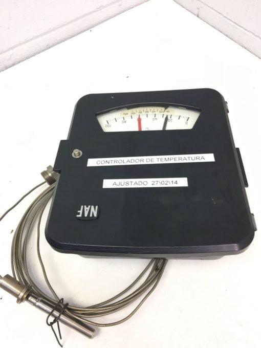 NEW NAF INSTRUMENT TEMPERATURE CONTROLLER 372310/B, 0-100 CELSIUS, (B284) 1