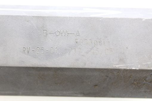 Flutec check valve RV-25-01