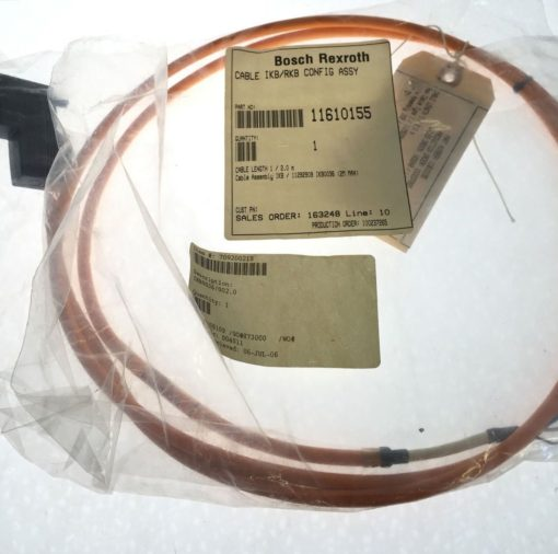 NEW IN BAG! REXROTH INDRAMAT INK0700 CABLE IKB0036 1/2