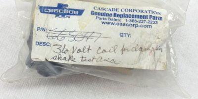 NEW! CASCADE 36VOLT COIL, METAL HOUSING FAST SHIP!!! (H154) 1