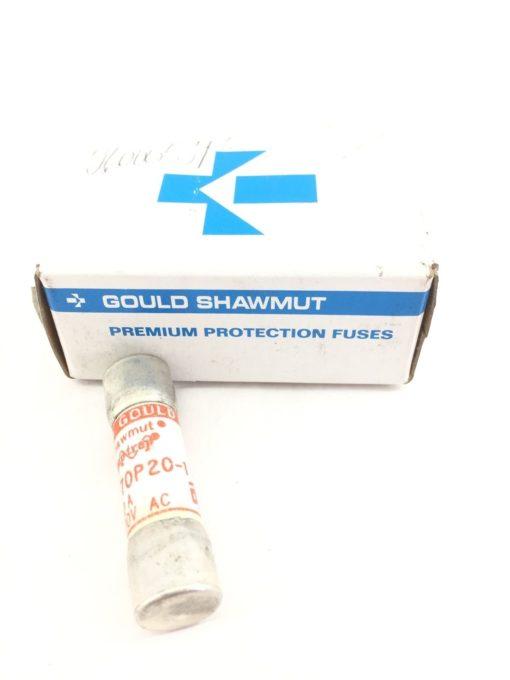 GOULD SHAWMUT A70P20-1 FUSE 20AMP 700VAC NEW BOX OF 10 (A433) 1