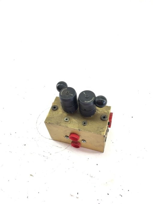 NEW HYDRAFORCE PFS-4 HYDRAULIC VALVE, LEFT AND RIGHT CYCLE, FAST SHIP! (B389) 1