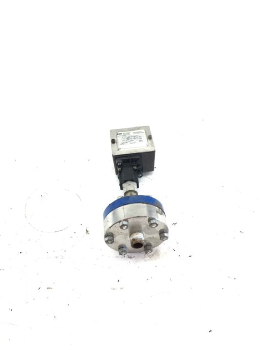 USED Barksdale 403N1-03CG-10-P Pressure Transducer, WITH BASE, 0-50 PSIG (B389) 1