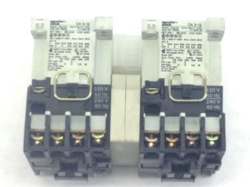 USED-GREAT SPRECHER+SCHUH CA3-12-01+CT3(K)12 MOTOR STARTR O/L RELAY COMBO (A104 1