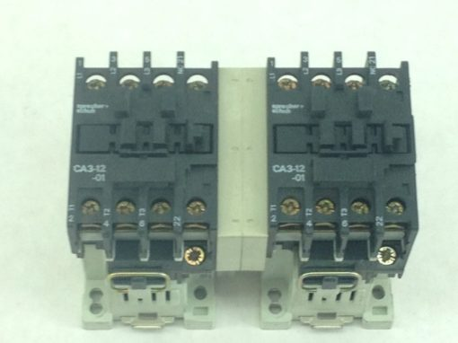 USED-GREAT SPRECHER+SCHUH CA3-12-01+CT3(K)12 MOTOR STARTR O/L RELAY COMBO (A104 2