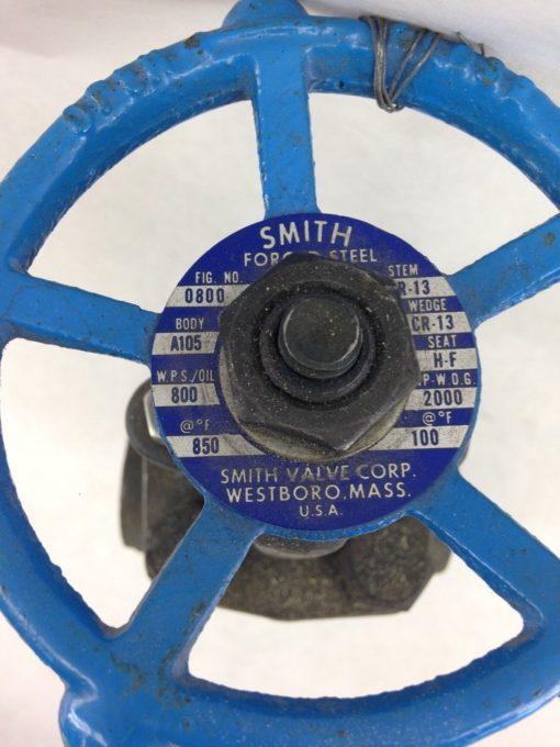 SMITH A105N GATE VALVE 1″ (B430) 2