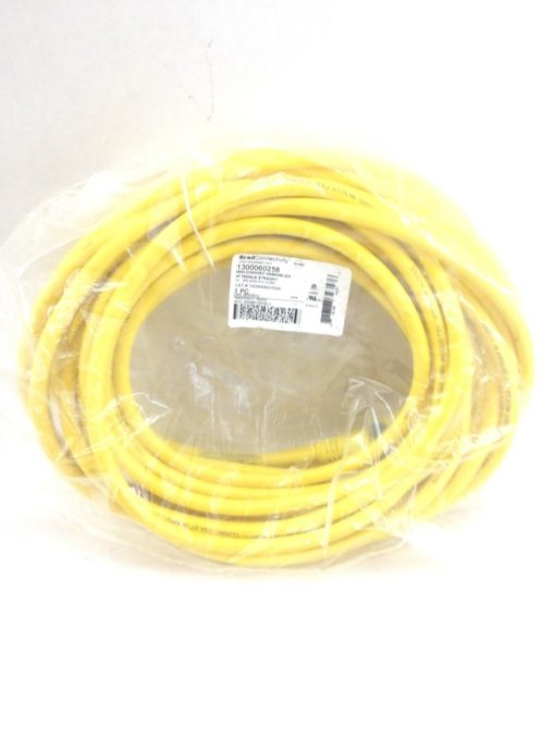 MOLEX BRAD WOODHEAD 1300060258 50 FT MINI-CHANGE 3P FEMALE STR POWER CORD (B22) 1