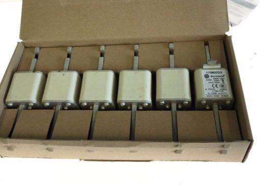 NEW BOX OF 6 COOPER BUSSMAN 170M3223 TYPOWER ZILOX FUSES, 630A, 690VAC, (F63) 1