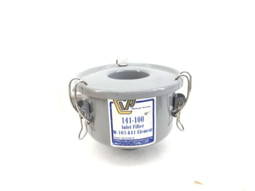 CUMBERLAND VACUUM PRODUCTS 142-100 METAL INLET FILTER ASSY – GREY (H301) 1