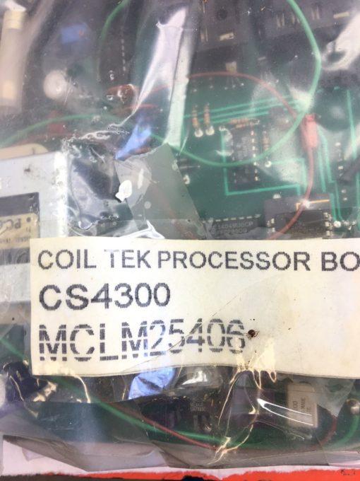 NEW COIL TEK CS4300 PROCESSOR BOARD WITH SIGNAL 24-1000 TRANSFORMER, (B314) 2
