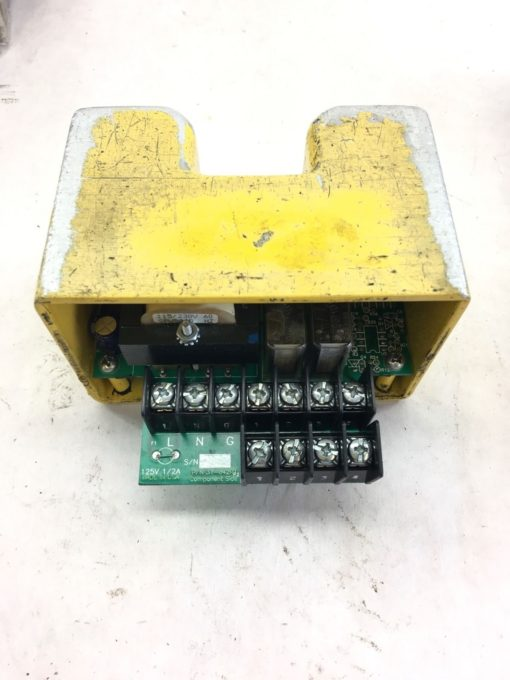 USED GOOD CONDITION 31-042R1 CIRCUIT CARD WITH STEEL COVERING, FAST SHIP! B314 1