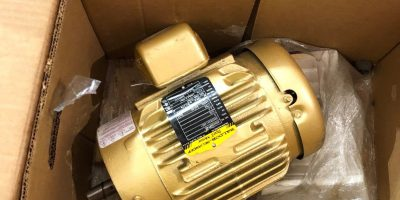 NEW IN BOX BALDOR VEM3587T-5 2 HP, AC MOTOR, 575V, 1750 RPM, 2