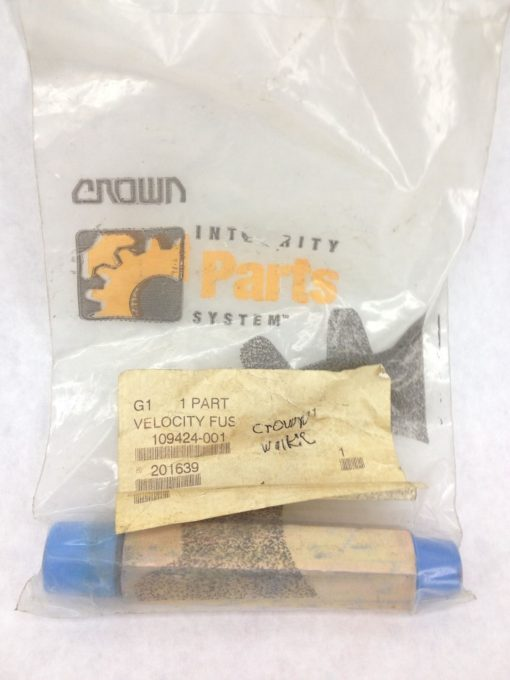 NEW! CROWN FORKLIFT CR109424-001 VELOCITY FUSE FAST SHIP!!! (H149) 1